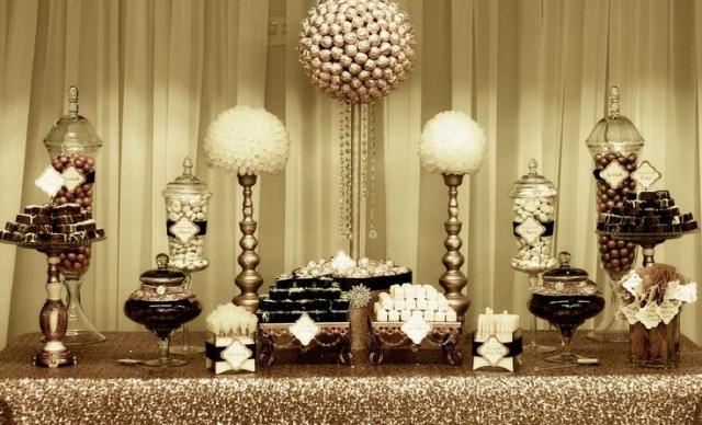 snoep buffet en decoratie snoep tafels